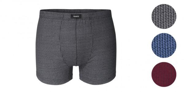3er Pack Herren Retro Shorts Baumwolle/Elasthan