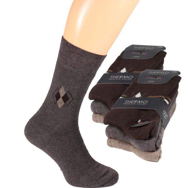 Herren Thermo Socken im 6er-Pack